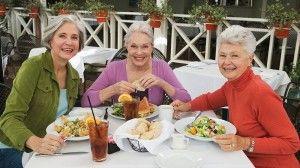 Déjeuner entre amis