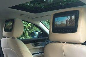VTC avec écran pour regarder des films